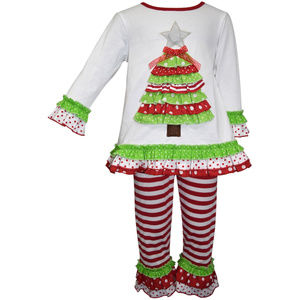 Blueberi Boulevard Christmas Tree Top & Leggings
